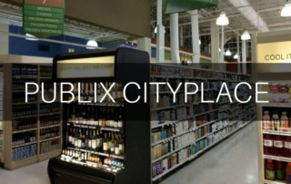 Inside of Publix CityPlace Grocery Store
